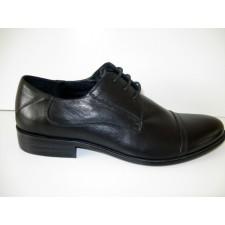 Juodi odiniai vyriški batai Mirco Cicioli