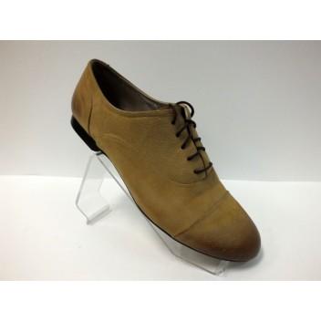Šviesiai rudi natūralios odos laisvalaikio batai Libero