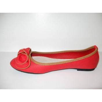 Raudonos balerinos Bestelle
